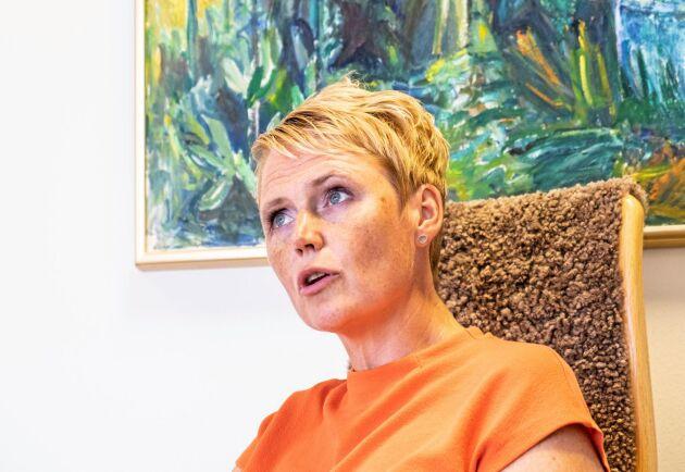 """""""Det som svenska jord- och skogsbrukare gör varje dag behövs"""", säger Anna Karin Hatt."""