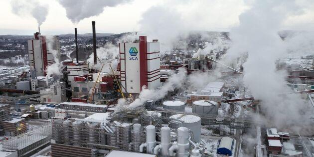 SCA satsar miljarder i ny maskin i Umeå