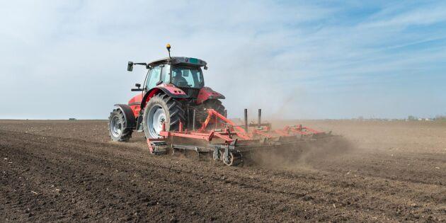 Startstödet från EU får fler unga att välja lantbruksyrket