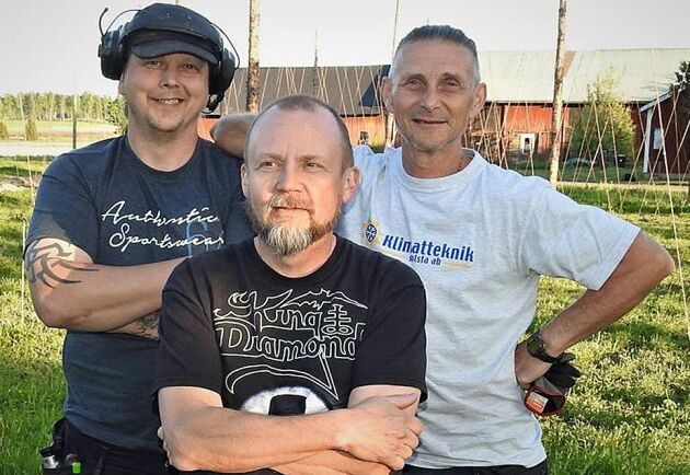Tobbe Andersson, Sven-Erik Fritiofsson och Ingemar Norbäck är trion bakom den stora humlesatsningen i Värmland.