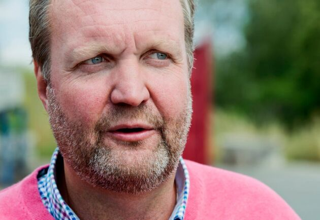 Mikael Jeppson, spannmålschef på Lantmännen Lantbruk.