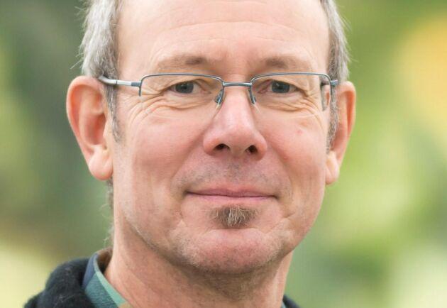 Lars Rytter, forskare i skogsskötsel på Skogforsk.