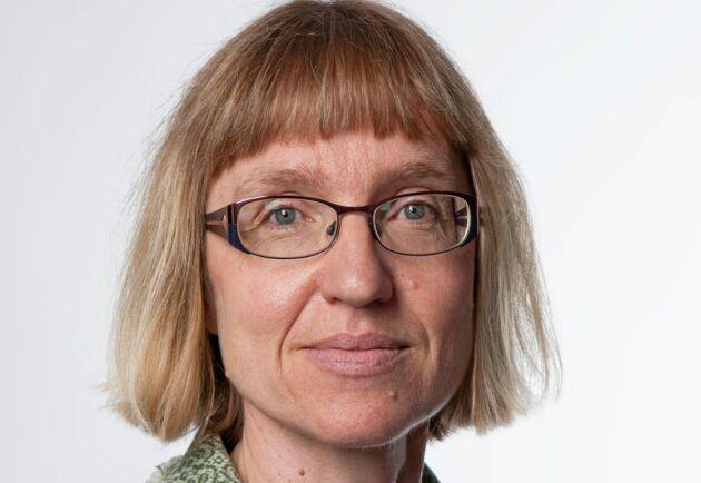 """""""Förr i tiden var det praxis att skydda grödorna från boskapen"""" säger Katarina Elofsson."""