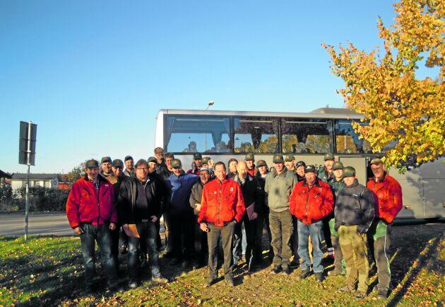 Resor är ett inslag i den norska BM Volvo-klubbens program. Här besöker man Odalmannens museum i Linköping.