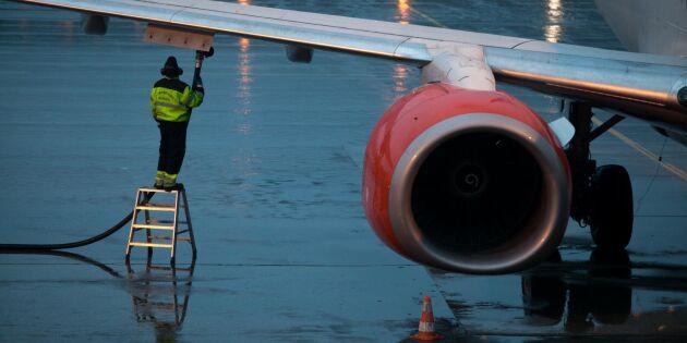 Krav på viss andel grönt i flygbränsletanken