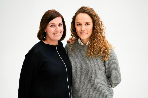 """Bloggen """"Jakten på den svenska maten"""" på Land.se skrivs av Anna Ross och Katarina Cumselius."""