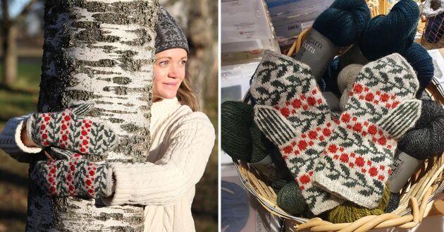 Inför Lands 50 års jubileum 2021 har Svensk Hemslöjd tagit fram en unik materialsats i stickning. Mönstret är framtaget av vd Jenny Berge och kan endast köpas på Landshopping.se.