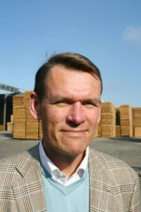 Peter Nilsson som är koncernchef för Bergs Timber