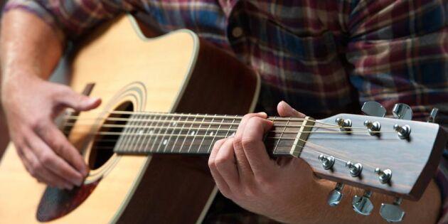 Ville sälja sin gitarr – blev stämd!