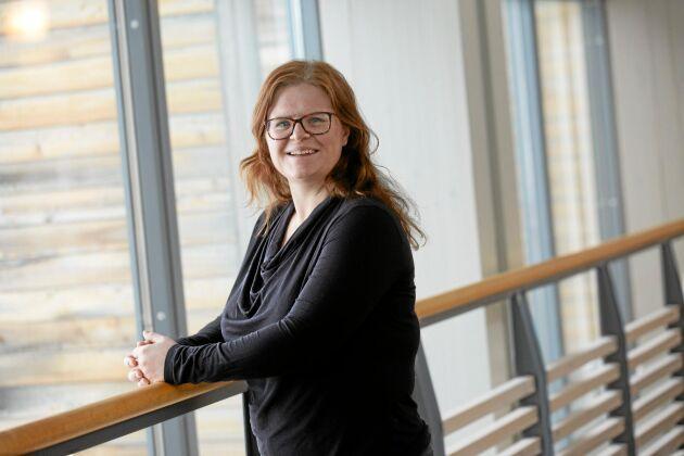 Anna Stjernströn, krönikör i Land Skogsbruk.