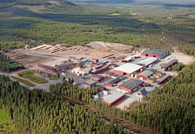 Martinsons nedlagda sågverk i Hällnäs ska bli företagspark.
