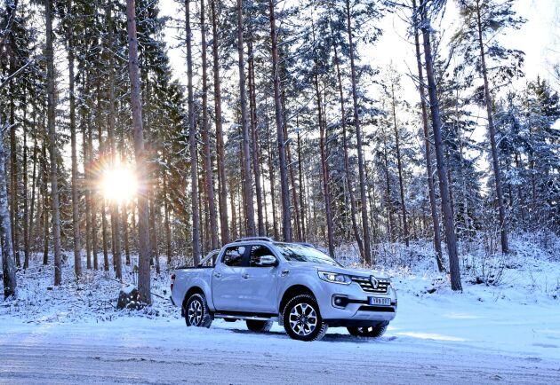 Provkörning av Renault Alaskan 2,3 dCi 190 4x4 Intens. På det hela taget ger Alaskan samma trevliga intryck som plattformskollegan från Nissan.
