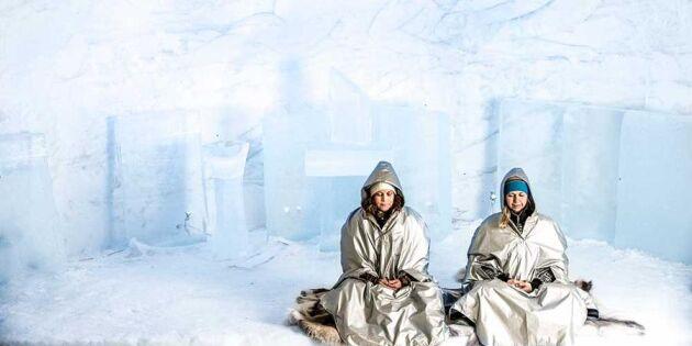 Vilken turistmagnet – de tjänar pengar på snö, is & tystnad!