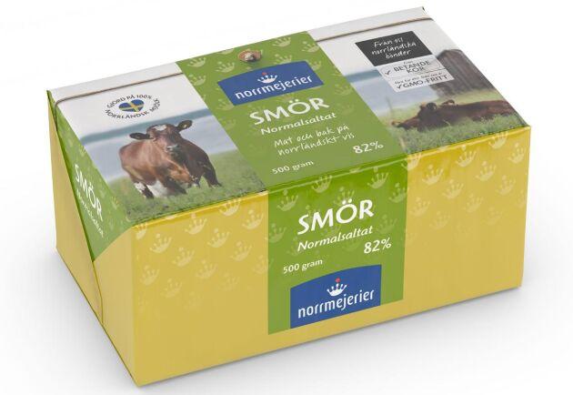 Norrmejerier har brist på smör i princip varje år till följd av den lägre mjölkinvägningen.