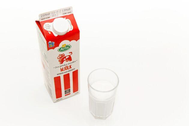 Arlas avräkningspris för mjölk är oförändrat.