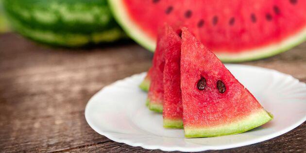 Så ska du hantera skuren melon och frysta grönsaker – för att undvika bakterier