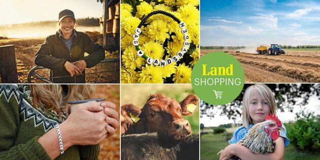 Visa din kärlek för landsbygden! Bär Land-armbandet och bidra till forskning