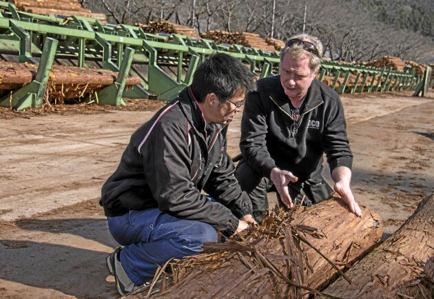 Katato Sugi och Carl-Olov Ohlsson diskuterar likheter och olikheter kring aptering.