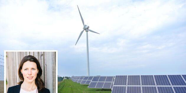 Hela Simris ska drivas av förnybart