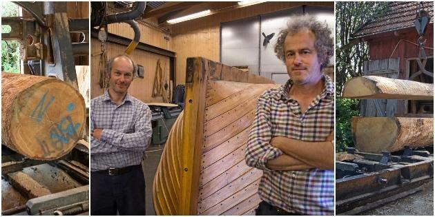 Båtbyggarbröder efterlyser virke av hög kvalitet