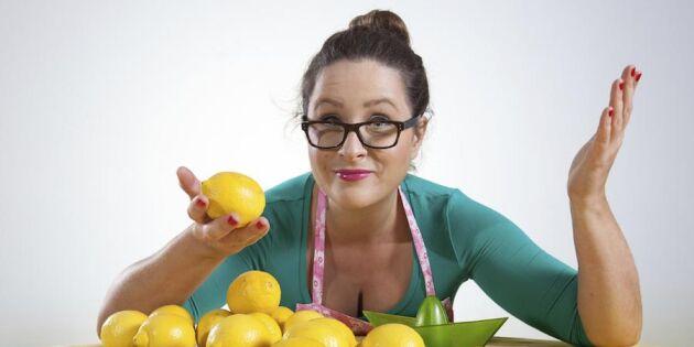Det går lika bra med citron - 44 friska lösningar på vardagsproblemen