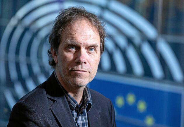 Pär Holmgren, miljöpartistisk EU-parlamentariker.