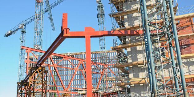 Inbrotten på byggarbetsplatser ökar