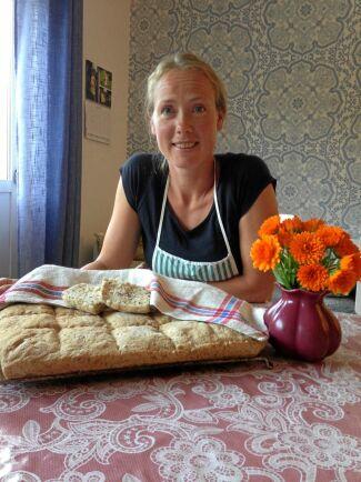 Kristin Barkmans snabba vardagsbröd är enkelt att baka – går åt i ett huj och älskas av alla i familjen.