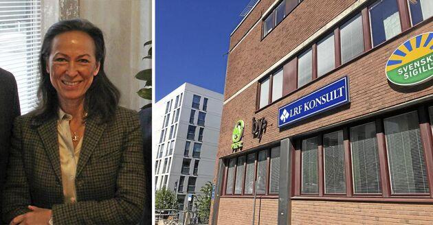 Katarina Klingspor, VD för LRF Konsult, driver på mot effektivisering och sänkta kostnader. Ett led i detta blir att testa outsourcing av verifikationshantering och hantering.