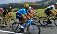 Tour de France stoppat av bondeprotester