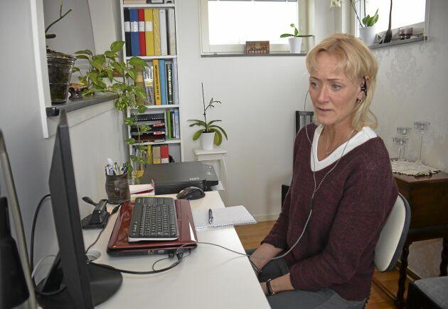 140 tränare finns att tillgå i Ridesum, Marit Flyhammer är en av dem.