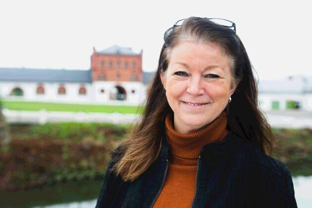 """""""Nästan alla elever väljer internatboende, så det blir ofta en väldigt god gemenskap och en del får vänner för livet"""", säger Lena Tjellander."""