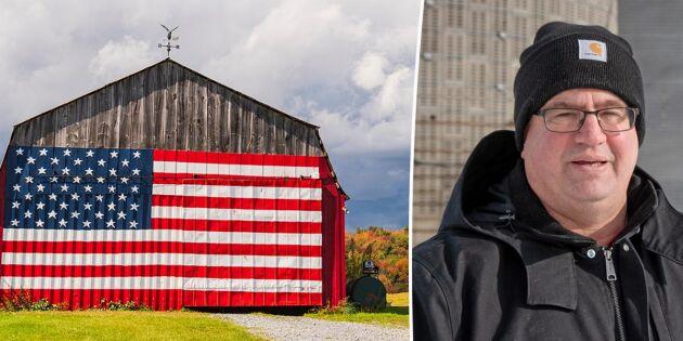 USA:s bönder splittrade om Biden som president