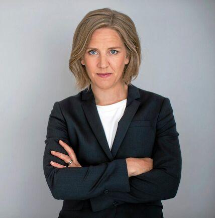 Miljöminister Karolina Skog tackar ja till inbjudan om skogsexkursion hos Norra Skogsägarna.