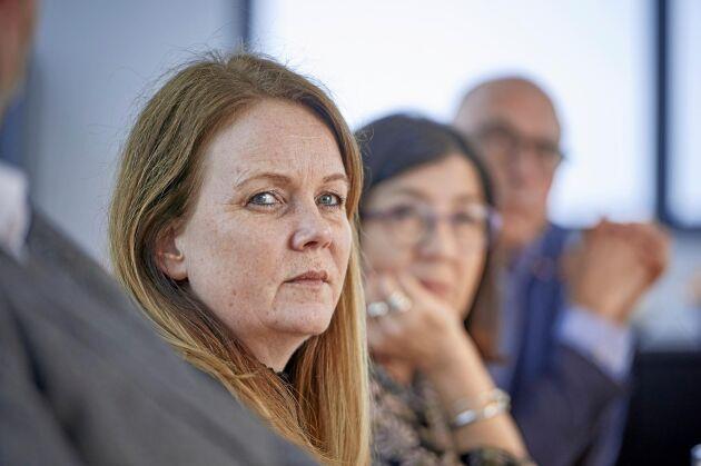 Landsbygdsminister Jennie Nilsson (S) vill prioritera förädling, förenkling och export i tillämpningen av den nationella livsmedelsstrategin.