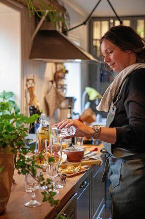 Elisabet är utbildad kock och älskar att laga all julmat.