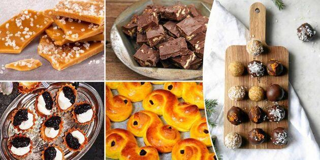 Älskade favoriter! Här är godaste recepten till julbaket