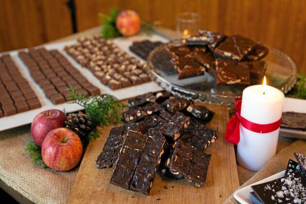 Chokladfabriken i Skåne-Tranås har återförsäljare i USA, Frankrike, Australien och Skottland, Japan och Sydkorea.