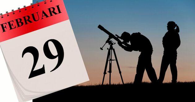 2020 är det skottår, med en extra dag den 29 februari.