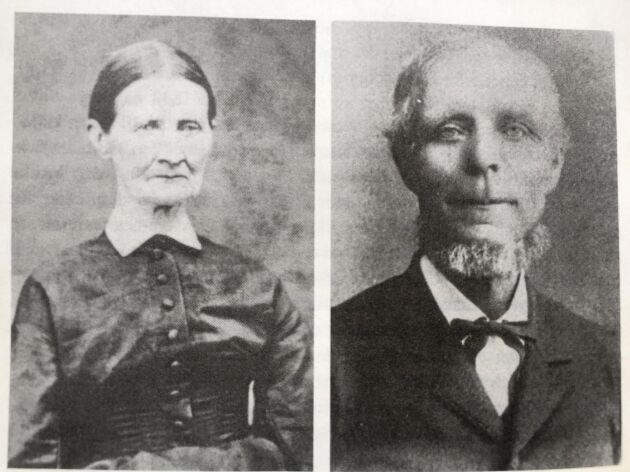 NÄRA OCH KÄRA. Hustrun Ingeborg Catharina Andersdotter och förste sonen Carl Johan Cassel.