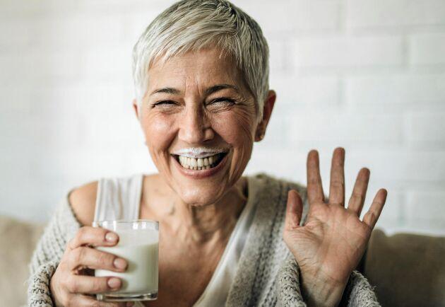 Jo, mormor hade faktiskt rätt – mjölk stärker ditt skelett.