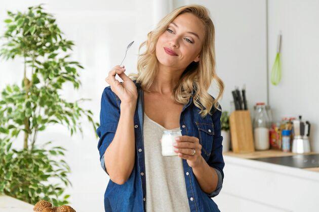 Ät långsamt och njut av alla fantastiska smaker. Ett härligt råd som hjälper dig att hålla vikten.