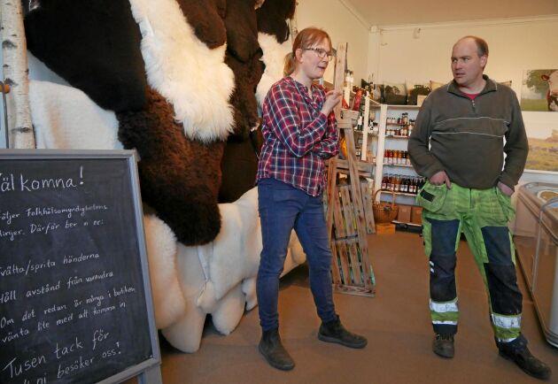 """""""Vi ser ett uppsving just nu, men det är ingen som vet vad som händer sen"""", säger Saga Planting Svensson."""
