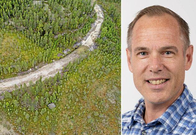 Norra skogsägarnas fältchef Stefan Holmberg säger att bolaget borde ha upprättat ett skriftligt avtal i det här fallet.