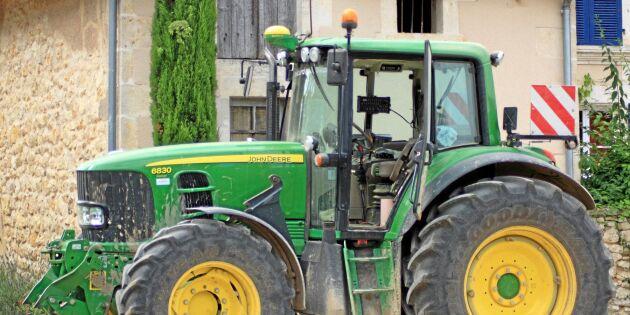 Polisen varnar för traktorligor ute efter GPS:er