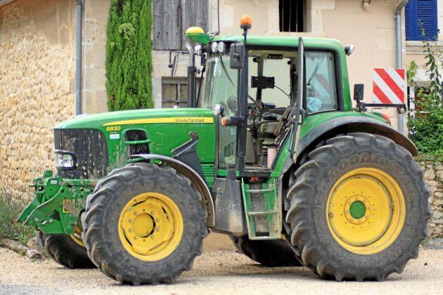 GPS-utrustningen i traktorer har blivit hett eftertraktat i tjuvkretsar.