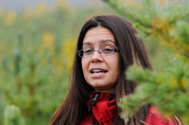 Helena Lindahl näringspolitisk talesperson och riksdagsledamot för C från Västerbotten.