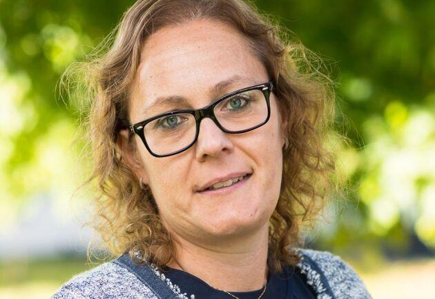 """Annika Deutsch, HR- chef på Billerud Korsnäs i Gävle. """"Just nu är vi verkligen inne i en rekryteringstung period, men det är roligt att vi kan satsa för framtiden""""."""