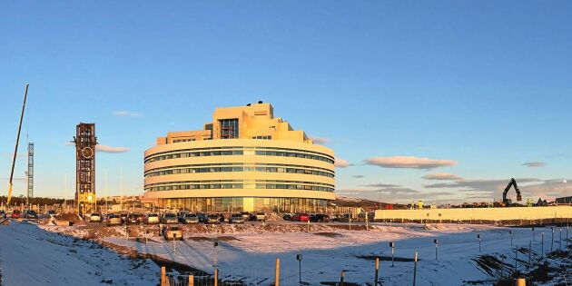 Staden flyttar: Här växer det nya Kiruna fram