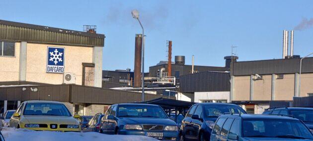 Branden skadade en tillverkningslinje för vegetariska produkter på Dafgårds.